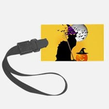Le Chat Noir - Halloween Witch Luggage Tag