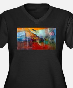 A Piece of America Plus Size T-Shirt
