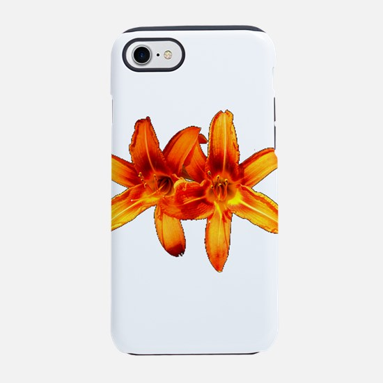 Tiger Lilly Duo iPhone 7 Tough Case