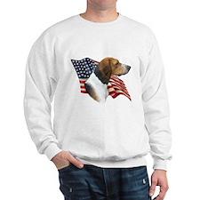 Am Foxhound Flag Sweatshirt