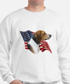 Am Foxhound Flag Sweatshirt
