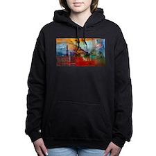 A Piece of America Women's Hooded Sweatshirt