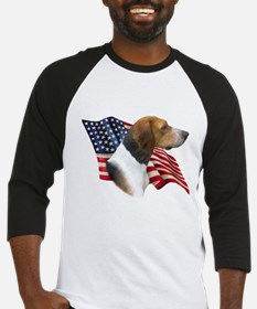 Am Foxhound Flag Baseball Jersey