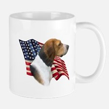 Am Foxhound Flag Mug