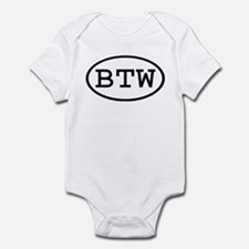 BTW Oval Infant Bodysuit