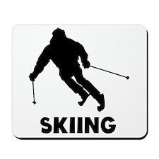 Skiing Mousepad
