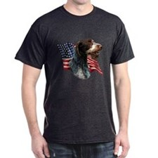 Wirehaired Flag T-Shirt