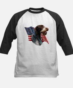 Wirehaired Flag Tee