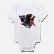 Wirehaired Flag Infant Bodysuit