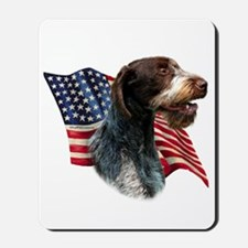 Wirehaired Flag Mousepad