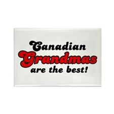 Canadian Grandma Rectangle Magnet