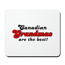 Canadian Grandma Mousepad