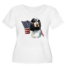 English Cocker Flag T-Shirt