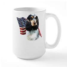 English Cocker Flag Mug
