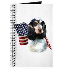 English Cocker Flag Journal