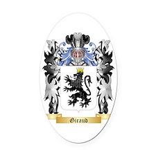 Giraud Oval Car Magnet
