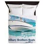 alburyboatredraw1.png Queen Duvet