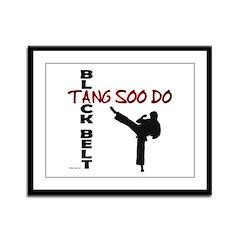 Tang Soo Do Black Belt 2 Framed Panel Print