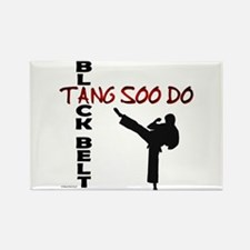 Tang Soo Do Black Belt 2 Rectangle Magnet