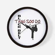 Tang Soo Do Black Belt 2 Wall Clock
