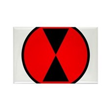 7th Infantry Division Magnets