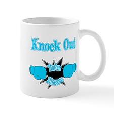 Knock Out Batten Disease teal.png Mugs
