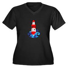 Lighthouse Plus Size T-Shirt