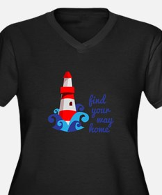 Find Your Way Plus Size T-Shirt