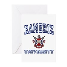 RAMERIZ University Greeting Cards (Pk of 10)
