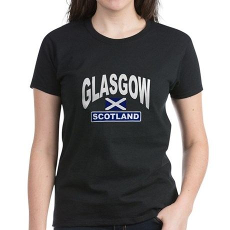 Glasgow Scotland Women's Dark T-Shirt