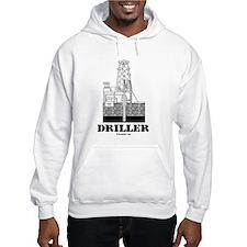 Driller Hoodie, Oil Rig Hoodie