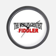 """The World's Greatest Fiddler"" Wall Clock"