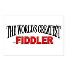 """""""The World's Greatest Fiddler"""" Postcards (Package"""