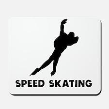 Speed Skating Mousepad