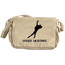 Speed Skating Messenger Bag
