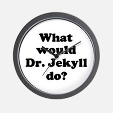 Dr. Jekyll Wall Clock