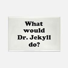 Dr. Jekyll Rectangle Magnet