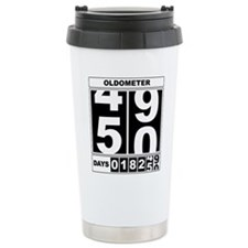 Cute 50th birthday Travel Mug