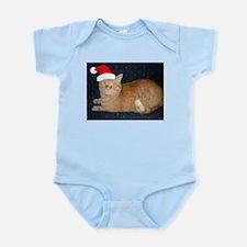 Christmas Orange Tabby Cat Body Suit