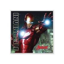"""Avengers Invincible Iron Ma Square Sticker 3"""" x 3"""""""