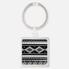 Tribal Pattern Keychains