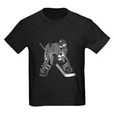 Gray Goalie Hockey T-Shirt
