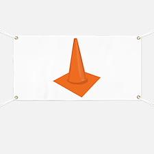 Traffic Cone Banner