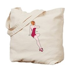 red_belle_ww2.png Tote Bag