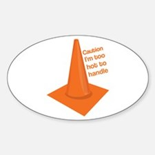 Caution Cone Decal