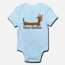 Merry Christmas Dachshund Body Suit