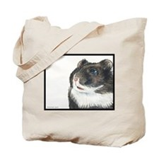 Hammie the eager entertainer hamster Tote Bag