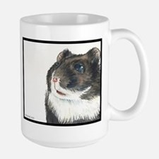 Hammie the eager entertainer hamster Mugs