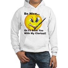 Beat You With My Clarinet Hoodie