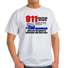911 Chalk Outlines T-Shirt
